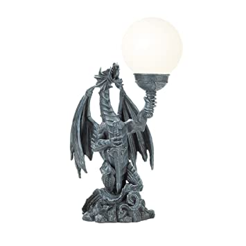 Koehler 37134 18 Inch Dragon With Globe Table Lamp