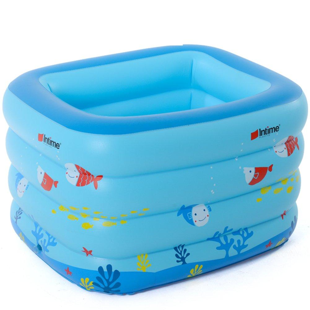 Baby Schwimmbad/Square Ring aufblasbare Schwimmbecken/Holding Baby Planschbecken/Baby-Pool für Kinder/Freizeitbad-A