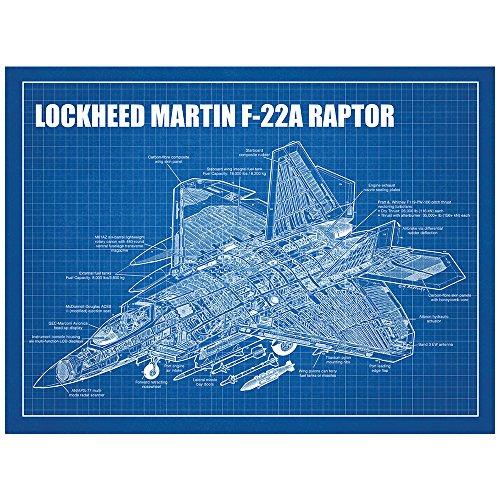 inked-and-screened-lockheed-martin-f-22a-raptor-print-18-x-24-blue-grid-white-ink
