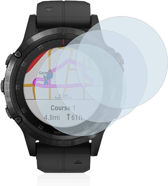 brotect Protecteur /écran en Verre pour Garmin Fenix 5/ /AirGlass 47/mm / /en Verre 9H/
