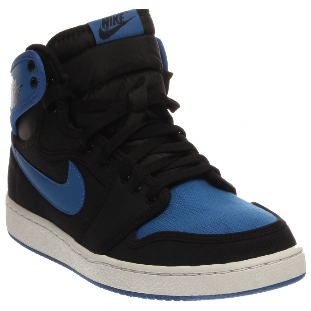 quality design 539d9 2b63c Amazon.com   Nike Air Jordan 1 KO High OG Mens Basketball Shoes 638471-007 Black  Black-Sport Blue 10 M US   Fashion Sneakers