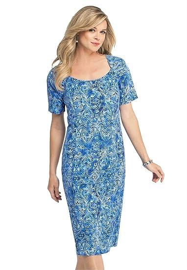 Bargain Catalog Outlet Roamans Plus Size Sheath Dress At Amazon