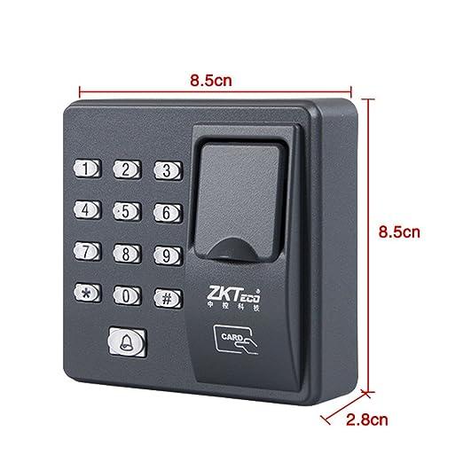 OBO HANDS Digital eléctrico dedo escáner Código lector RFID sistema de control de acceso de huellas digitales biométrico sistema de reconocimiento X6 + ...
