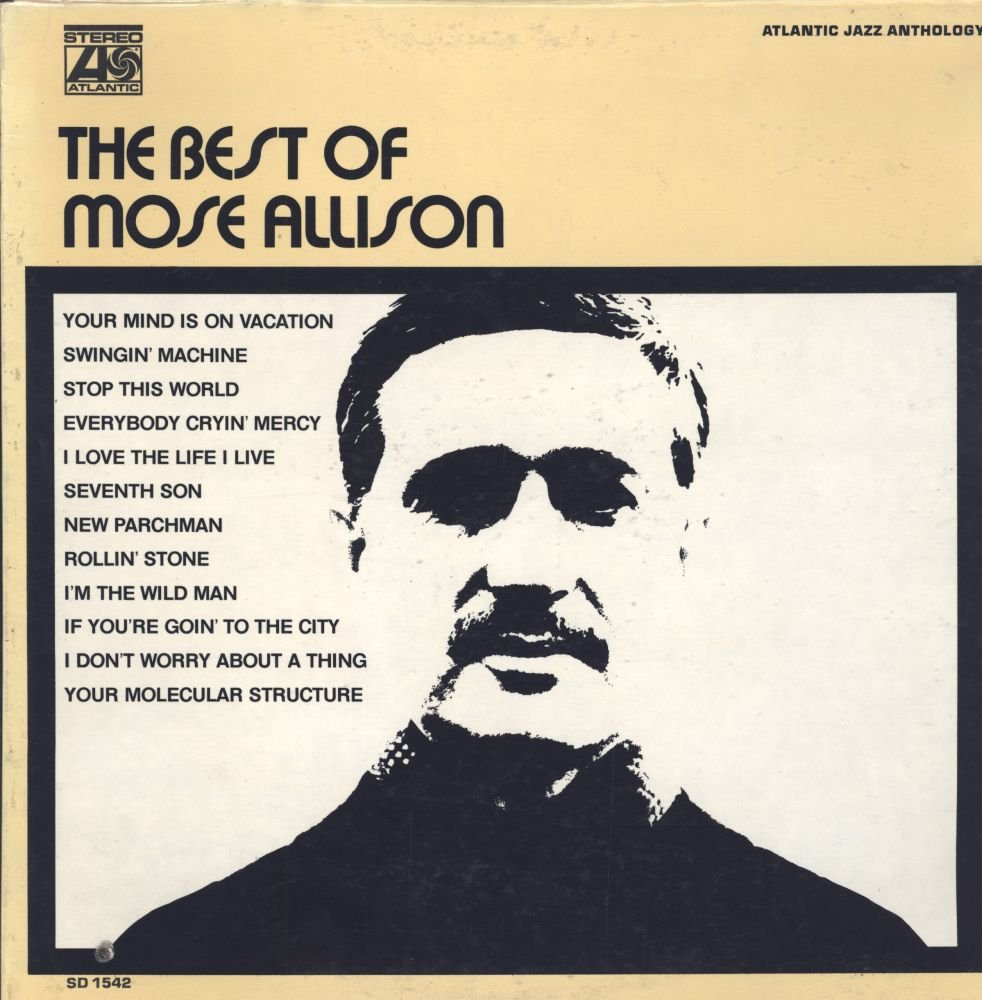 The Best of Mose Allison by Atlantic