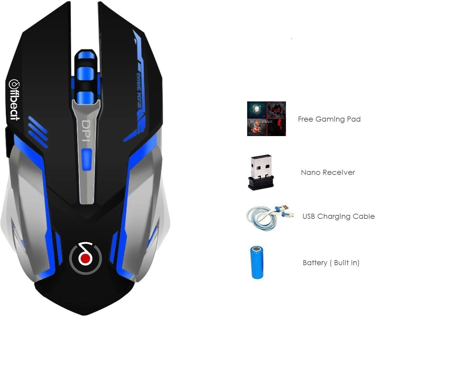 offbeat gaming mouse Best Gaming Mouse Brand in India