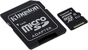 Professional Kingston 256GB for Lenovo K4 Note MicroSDXC Card Custom Verified by SanFlash. (80MBs Works with Kingston)