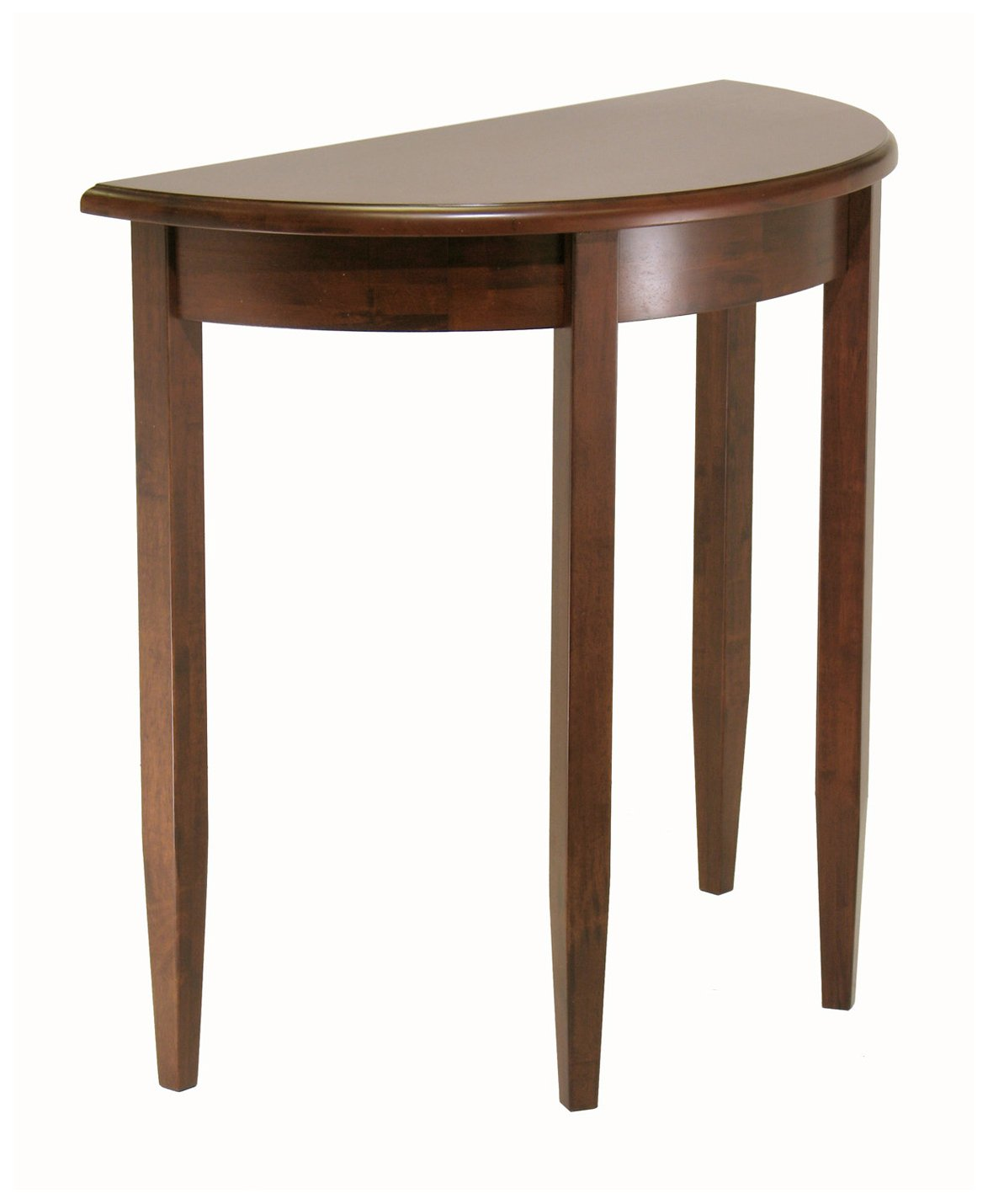 amazoncom winsome concord half moon table kitchen  dining -