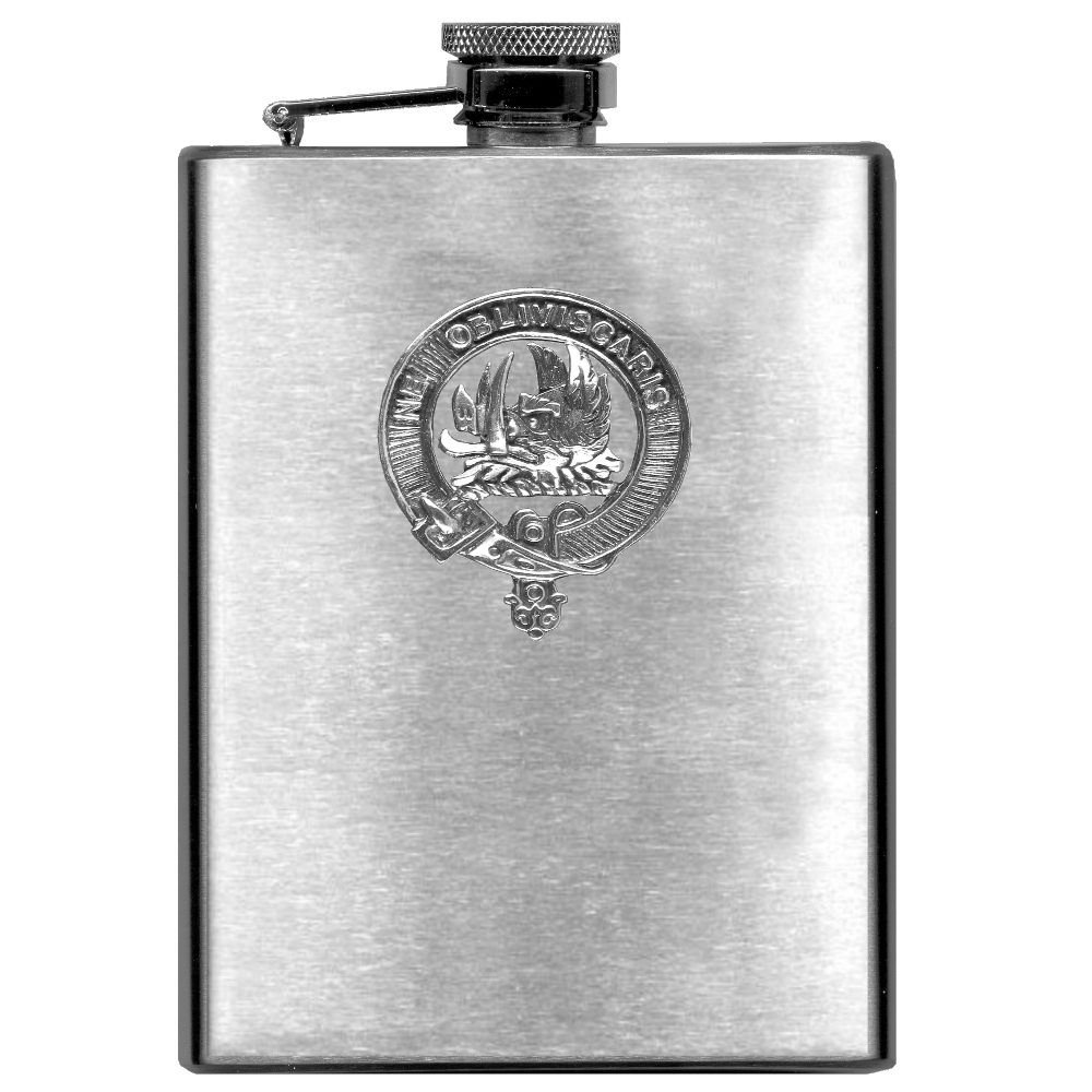 Campbell (Argyll) Scottish Clan Stainless Steel 8oz Flask