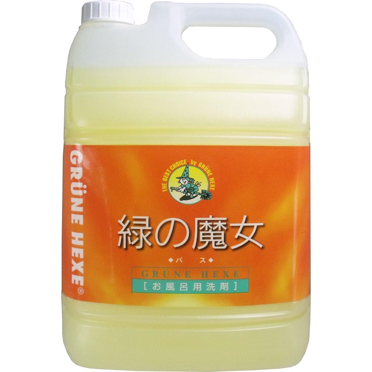 緑の魔女 バス用洗剤 業務用 5L B00FWO615M
