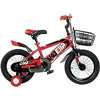SHBJIA YM-KB-13 16 inch Unisex Child RBY37 Kids Bicycle - Orange/Black, 16 inch