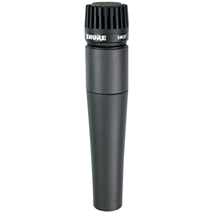 Amazon.com: Shure SM57-LC Cardioid Dynamic Microphone: Musical Instruments