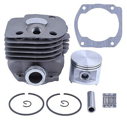 BIG BORE Cylinder Piston Kit for Husqvarna 372 371 365 362 NIKASIL PLATE 50MM