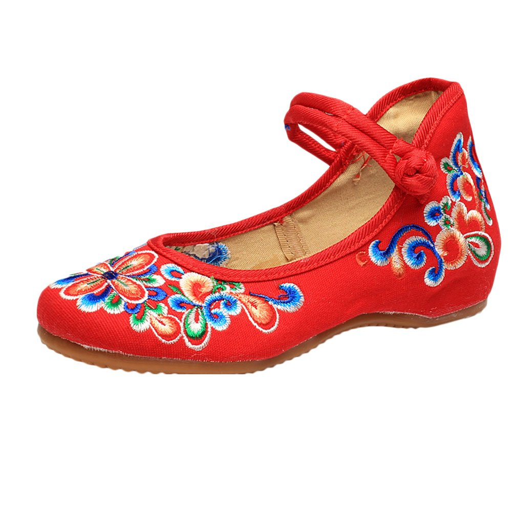 d8f5b3f1c Zhuhaitf Fashion Womens Art Embroidered Cloth Shoes Classical China Style  Shoes  Amazon.ca  Shoes   Handbags