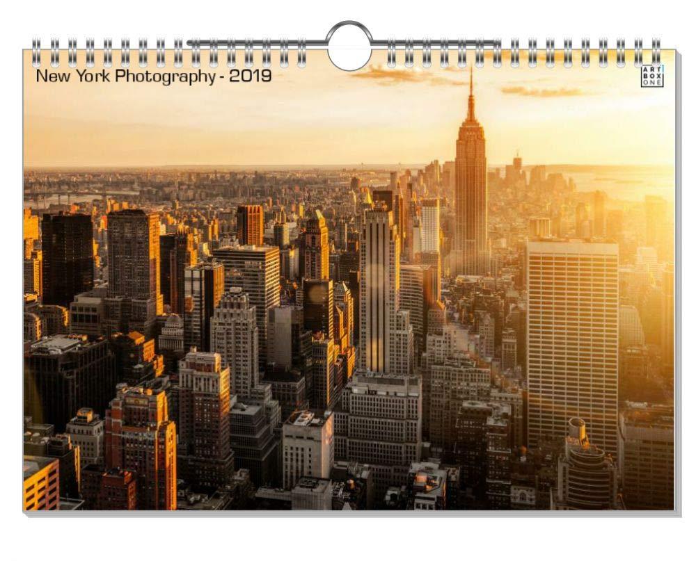 ArtboxONE Kalender 2019 New York Typography Wandkalender A2 Städte New York B07H938CBB    | Bekannt für seine hervorragende Qualität