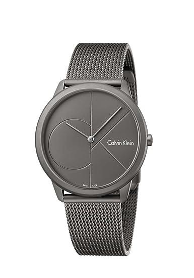3d30ec1c91d3c6 Orologio Uomo - Calvin Klein K3M517P4: Amazon.it: Orologi