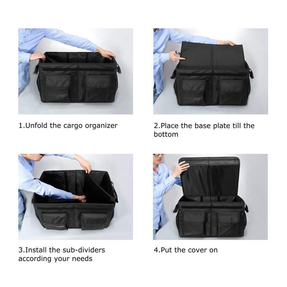 Freundlich Linkax Kofferraumtasche Auto Kofferraum Organizer Faltbare Autotasche Aufbewahr Boxen