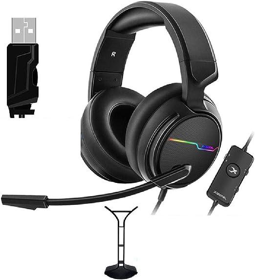 ZXB Cómodo Auricular para Juegos para Xbox Uno Delgado PS4, Pc ...