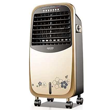 Air Cooler Enfriador de Aire, Calentador de Ventilador, purificador de Aire y humidificador Temporizador