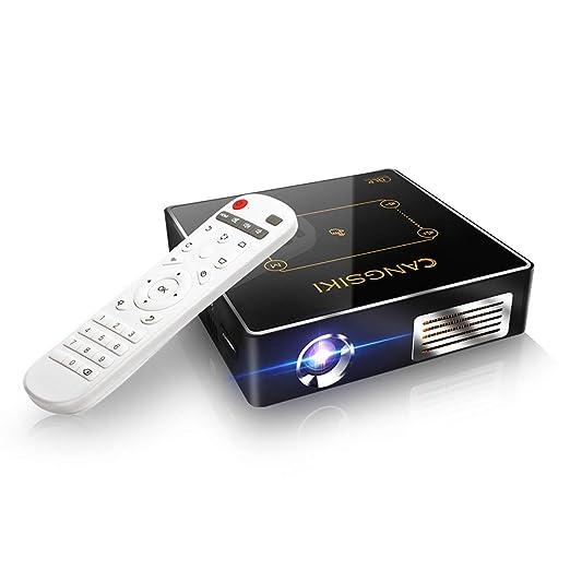 WXJZ Mini Proyector Portatil Full HD para Movil LED Proyectores 4k ...