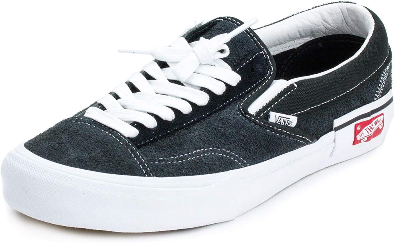 Vans Mens Slip-On Cap LX BI Black