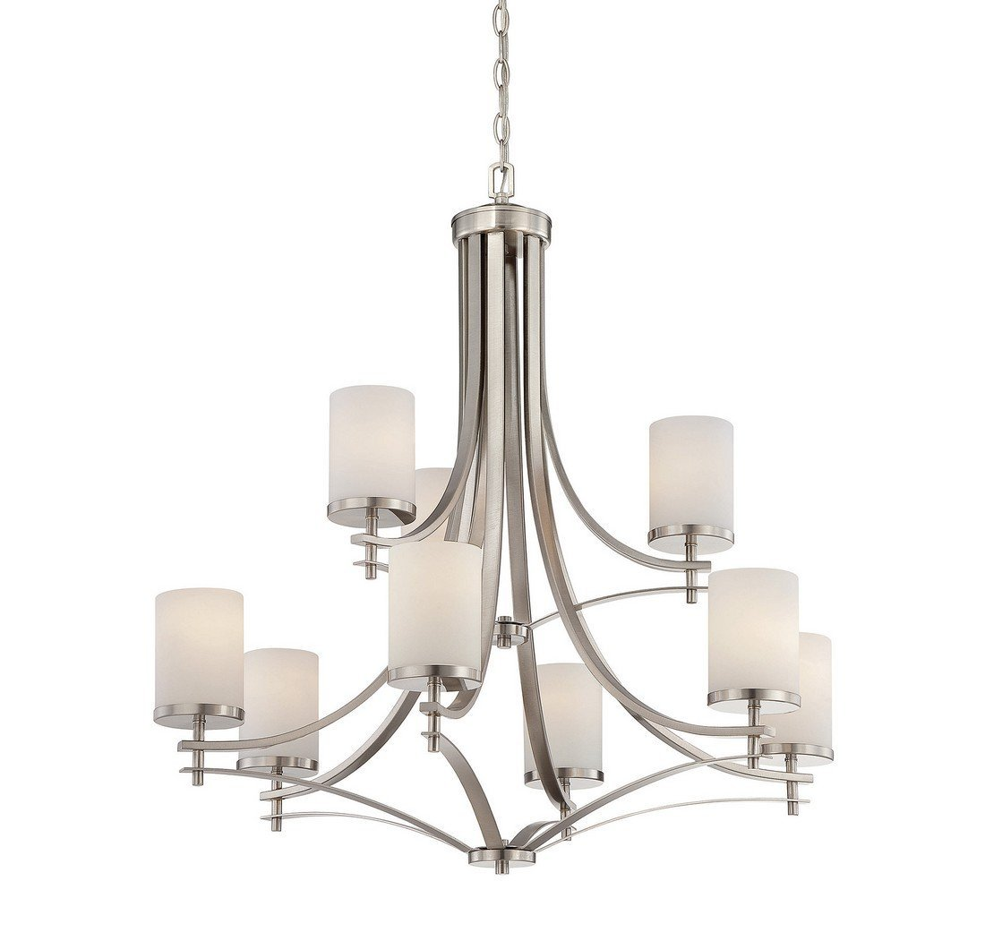 Savoy house 1 331 9 sn colton 9 light chandelier in satin nickel savoy house 1 331 9 sn colton 9 light chandelier in satin nickel finish amazon mozeypictures Gallery