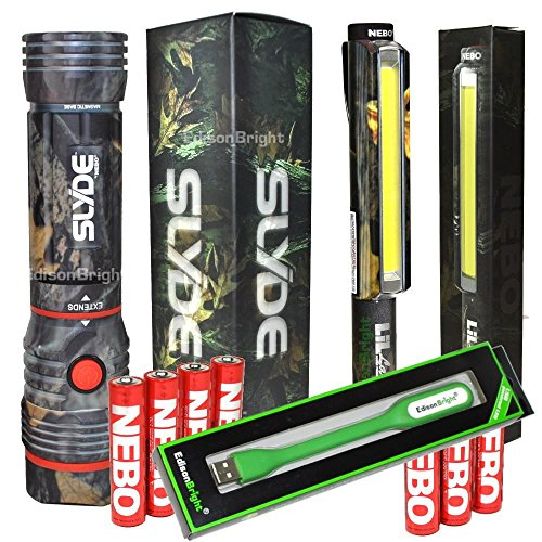Nebo Slyde and lil larry bundle (CAMO) 250 Lumen magnetic...