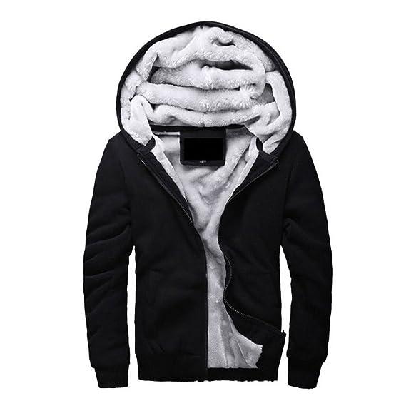 Landigo Autumn Winter Mens Cashmere Jacket Male Jaqueta Masculino Long Sleeve Hooded Coat Moletoms Warm Casaco