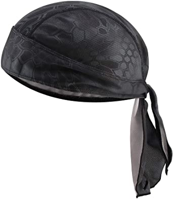 MissFun Cycling Skull Caps Running Wicking Hats Helmet Liner for Women and Men