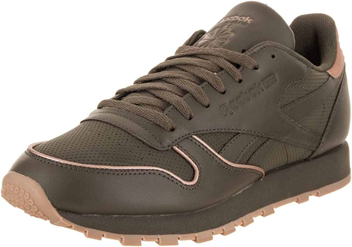 Reebok Classic Leather Men/'s Shoes Army Green-Rose Gold-Gum CN2845