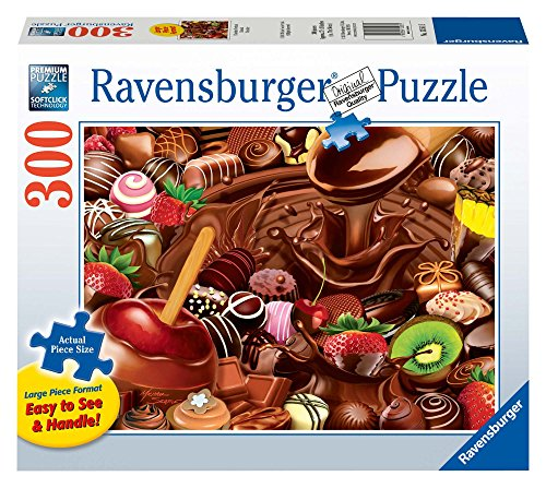Chocolate Overload Jigsaw Puzzle, Large Format, 300-Piece
