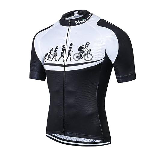 607e86d64 Amazon.com  Mens Cycling Jersey Shirt