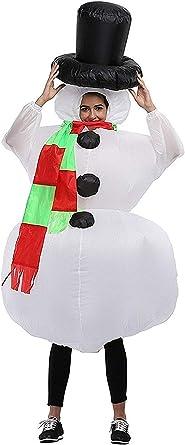 Amazon.com: Navidad muñeco de nieve Disfraz De Cosplay ...