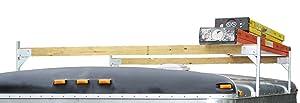 Pack'em Aluminum Roof Rack Racks PK28B - 4 Piece Set (to Make 2 Cross Sections) - 2x4 Bracket Kit for Enclosed Trailers