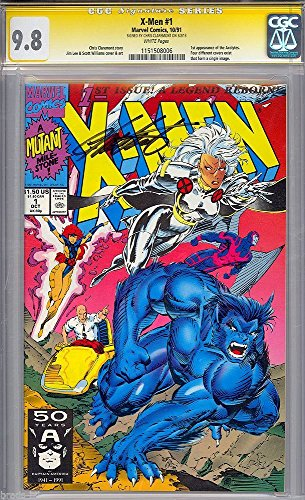 x-men-1-cgc-98-ss-white-pages-chris-claremont-beast-cover-cgc-1151508006