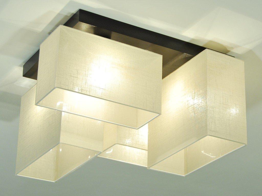 Plafoniere Da Soffitto In Legno : Plafoniera illuminazione a soffitto jls brecd in legno massiccio