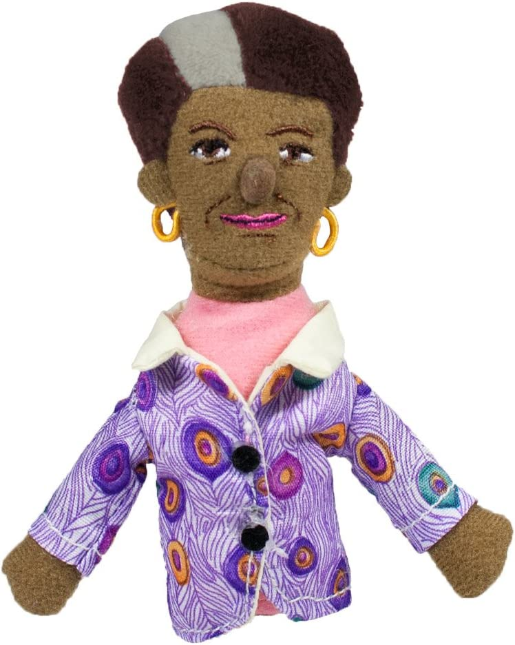 The Unemployed Philosophers Guild Maya Angelou Finger Puppet and Refrigerator Magnet
