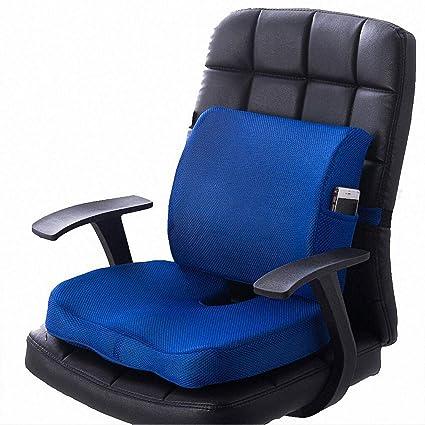 Cojín lumbar para asiento de coche, para silla de oficina ...
