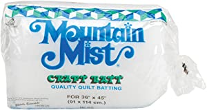 Mountain Mist Polyester Quilt Batting, Craft 36-inch-by-45-inch