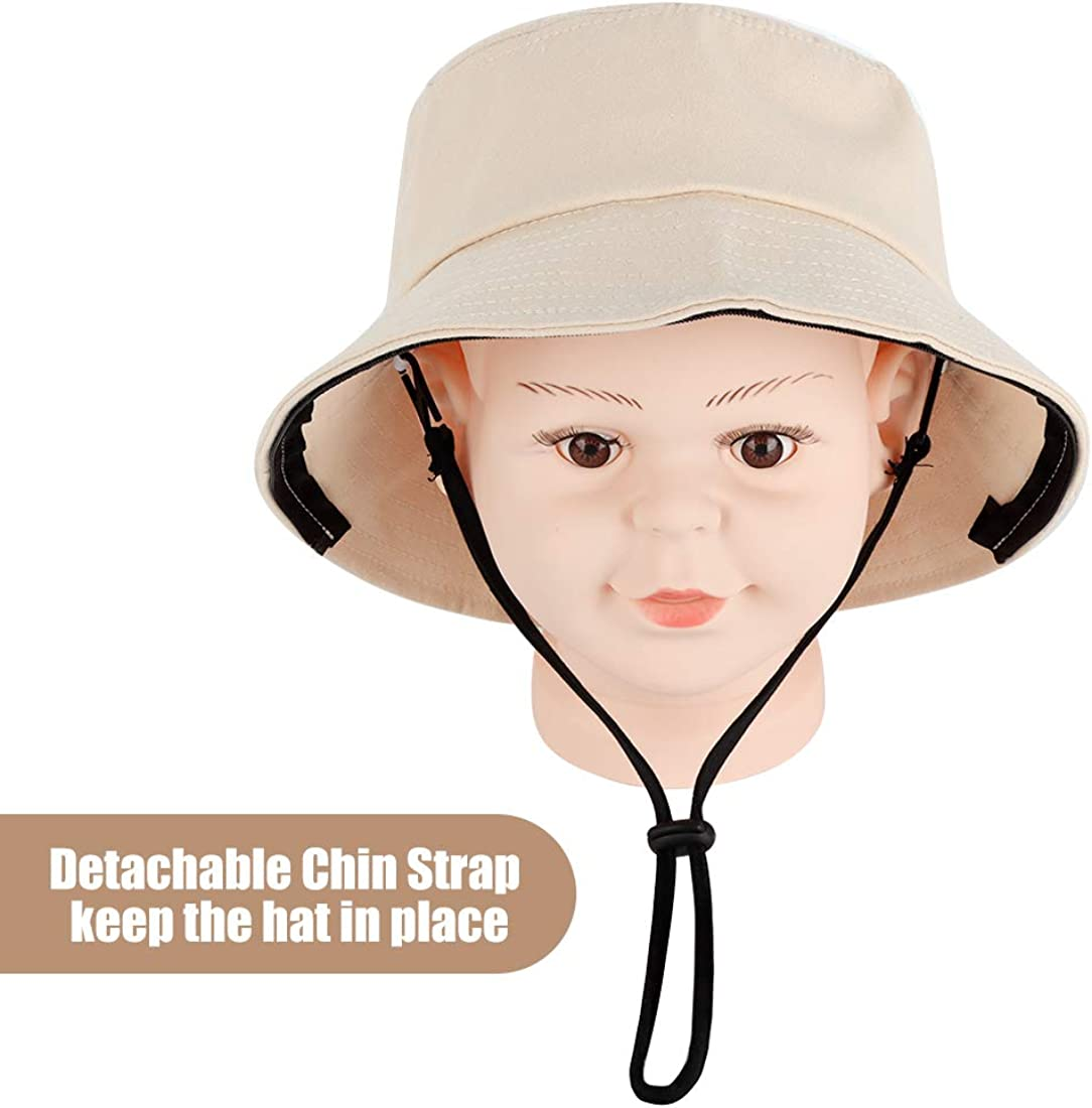 N Childrens Drip Protection Shield Kids Face Cover Hat Eye Protection Insulation dustproof Black