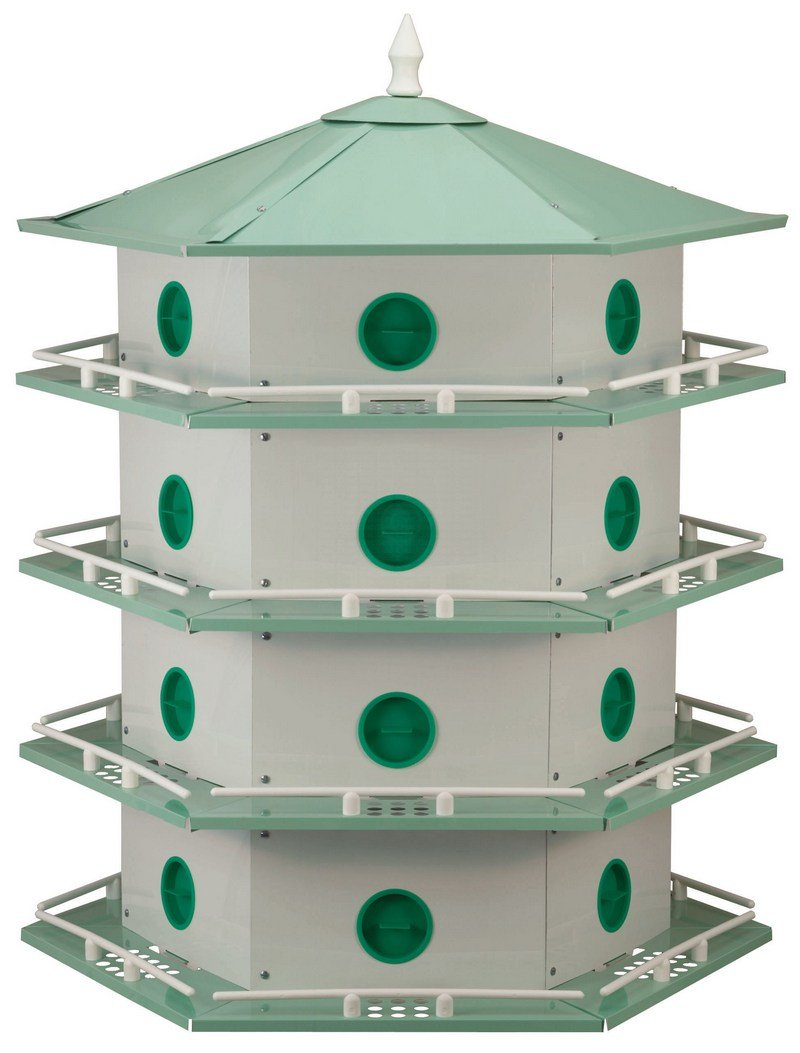 Heath Outdoor Products AH-24D 24 Room Purple Martin House
