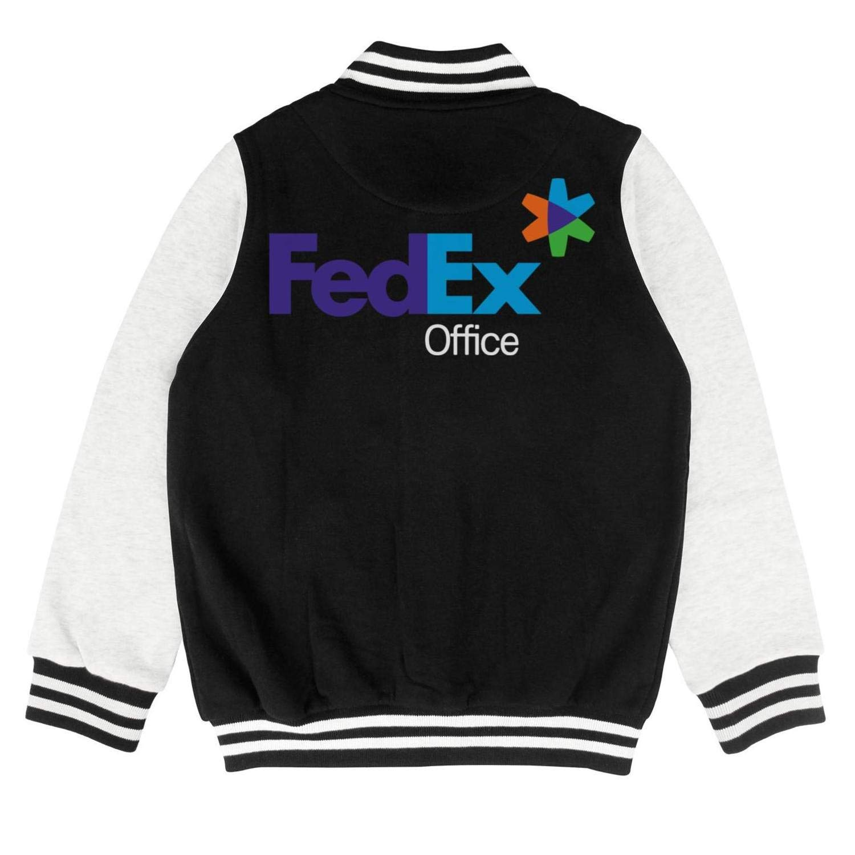 Kids Toddler FedEx Office Logo Symbol Sweatershirts Sweater Coat Cozy