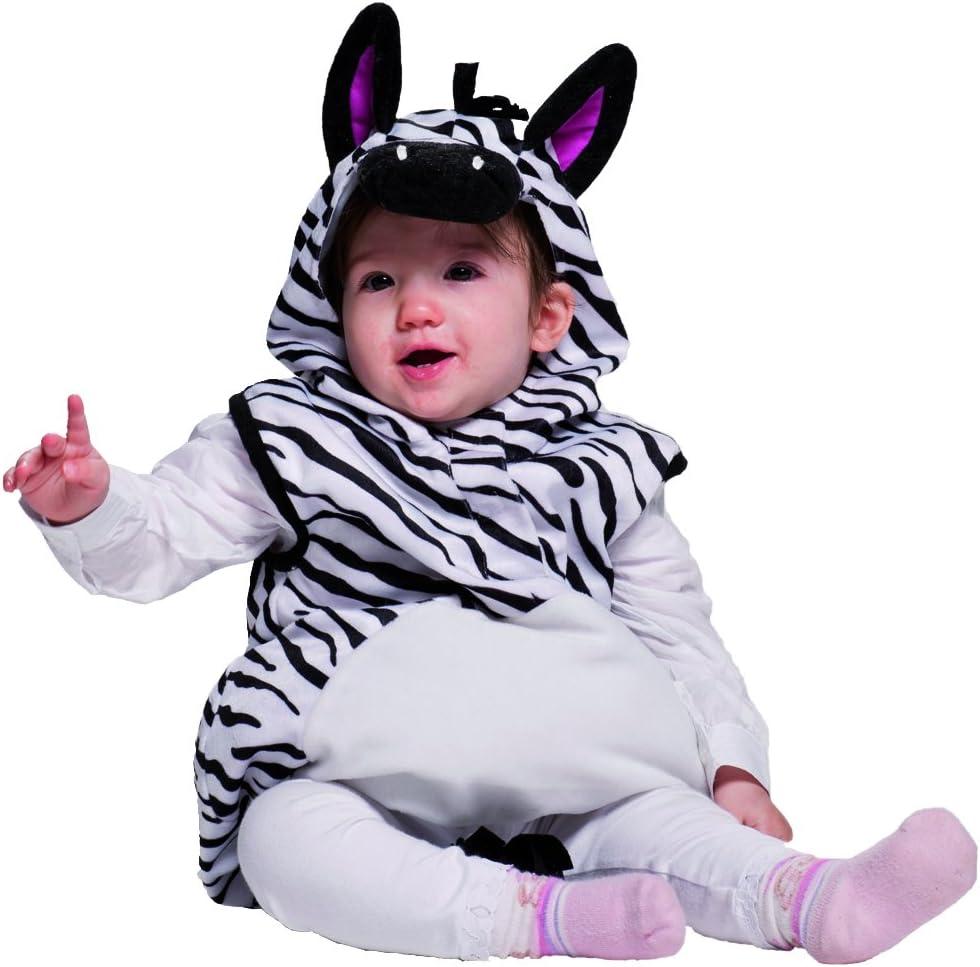 Joker JC009 – 001 – Gracioso disfraz de Cebra enterizo para bebés ...