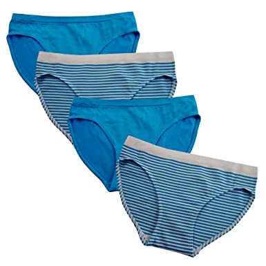 eae74ab9eb965 FEM Girl Seamless Underwear Bikini Panties for Girls - 2 Pack or 4 Pack  (Small
