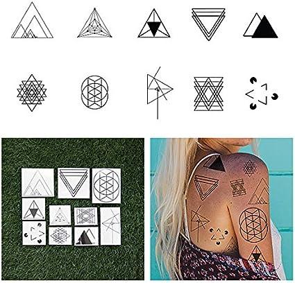 Tatuaje Temporal Tattify - Forma de Triángulo - Me Gustaría Verte ...