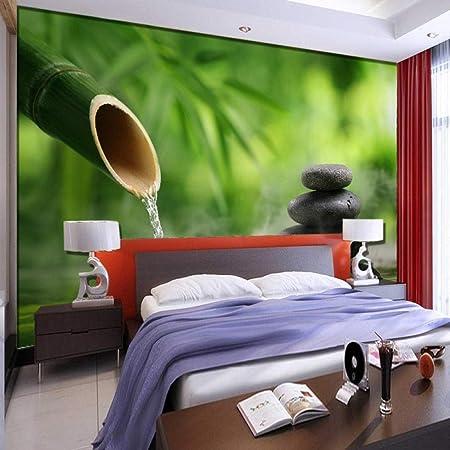 Papier Peint 3d Intissé Zen Photo Mural Moderne Décoration