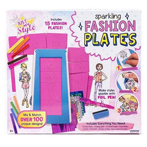 Just My Style Fashion Plates by Horizon Group (Rome Plate)