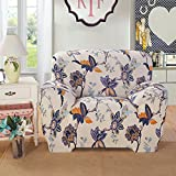 Yiwant Sofa Slipcover Protector Cover, Printed Polyester Spandex Fabric Elastic Sofa Couch Covers, Chair, Style #1003-13