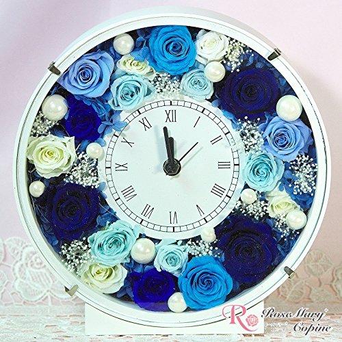 プリザーブドフラワー 時計 フレームアレンジ 花時計 afc-005 B00PUIJEP4
