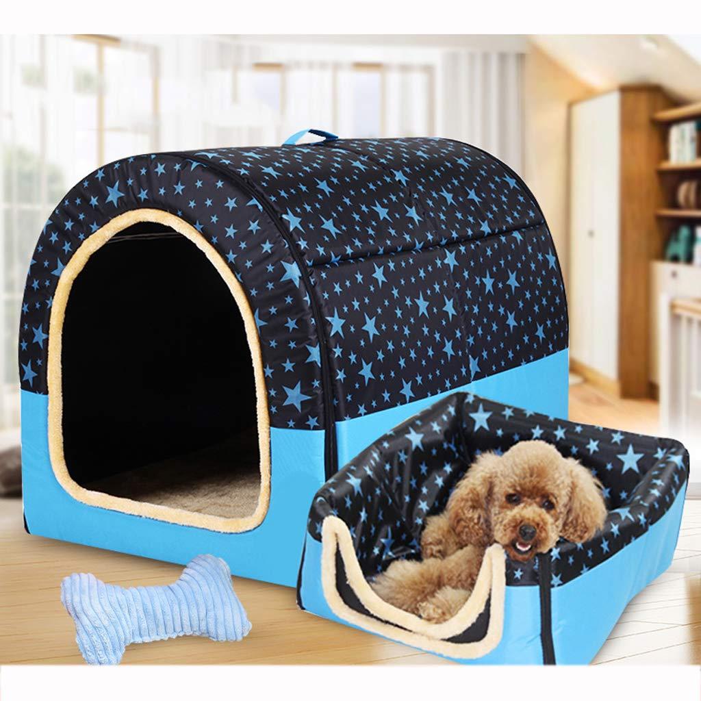 negozio outlet Nido per Animali, Cuccia Universale in Tessuto Oxford a a a Quattro Stagioni, Divano Letto, Una cucciolata, Blu - 5 Dimensioni  fantastica qualità