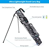 LONGCHAO Golf Stand Bag, Lightweight Easy Carry